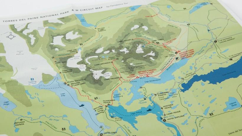 Fantástico Sur – Mapa