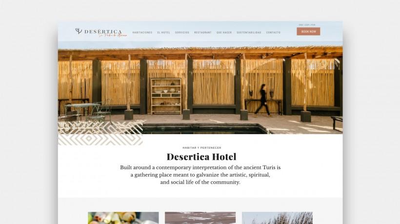 Hotel Desertica web